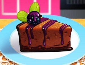 Çikolatalı Dutlu Pasta